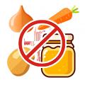 Не рекомендуется собирать овощи